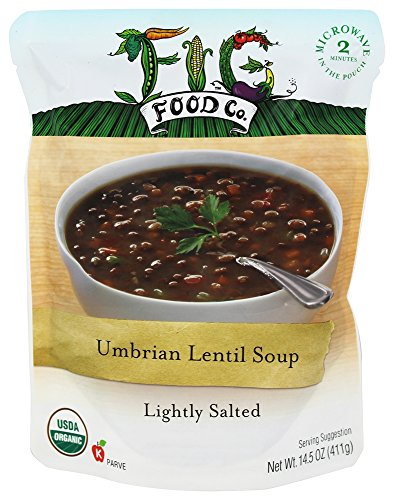 Fig Food Organic Soup Umbrian Lentil 14.5 OZ (Pack of 6) by Fig Food