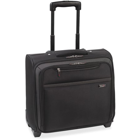 Solo, USLCLA9014, US Luggage Rolling Laptop Overnighter Case, 1, Black