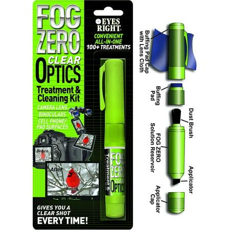Fog Free Optics Treatment And Cleaning Kit Pen Archery