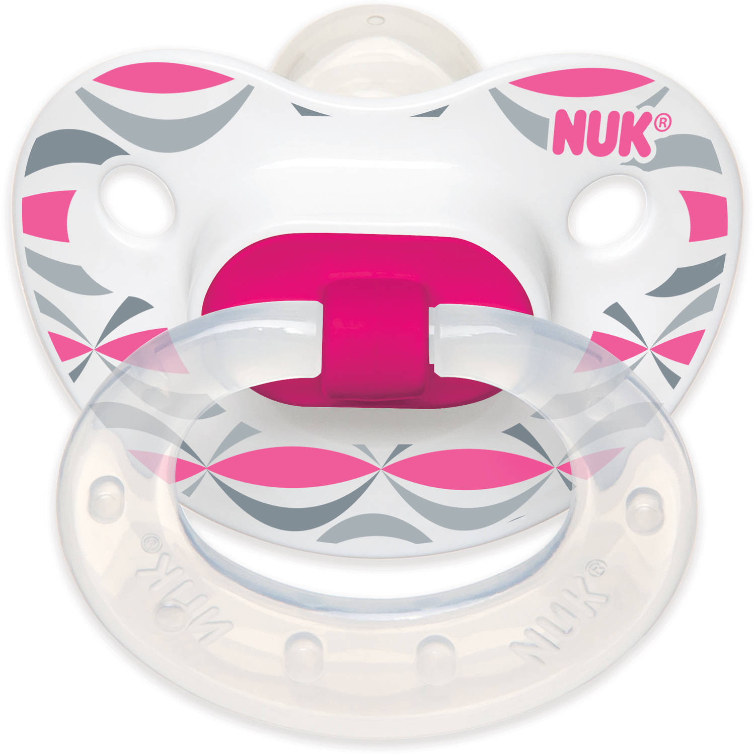 The NUK Silicone Orthodontic Pacifier, Choose Your Color