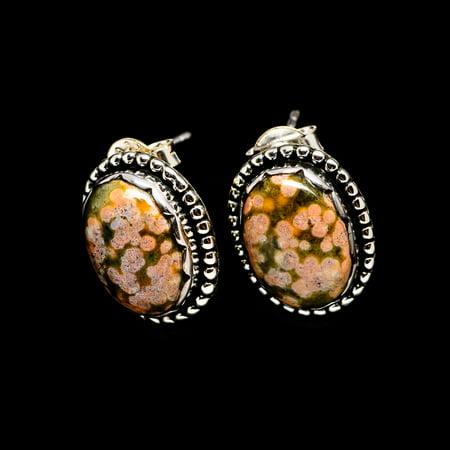 Ocean Jasper Earrings 3/4