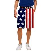 Loudmouth Golf Men's Stars & Stripes 32 Shorts