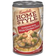 Campbell's Homestyle Southwest-Style White Chicken Chili Soup, 18.6 oz.