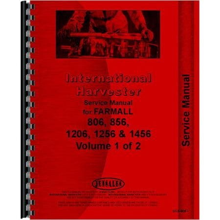Case International Repair Manual - New Tractor Manual Kit For Case IH International Harvester 806 856 1206 1256 +