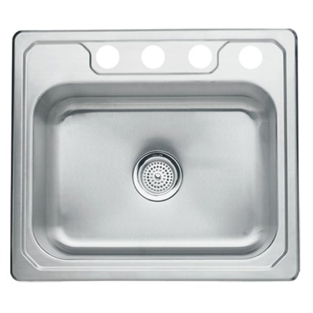 Sterling by Kohler Middleton® 1471X-4 Single Basin Drop In Kitchen Sink
