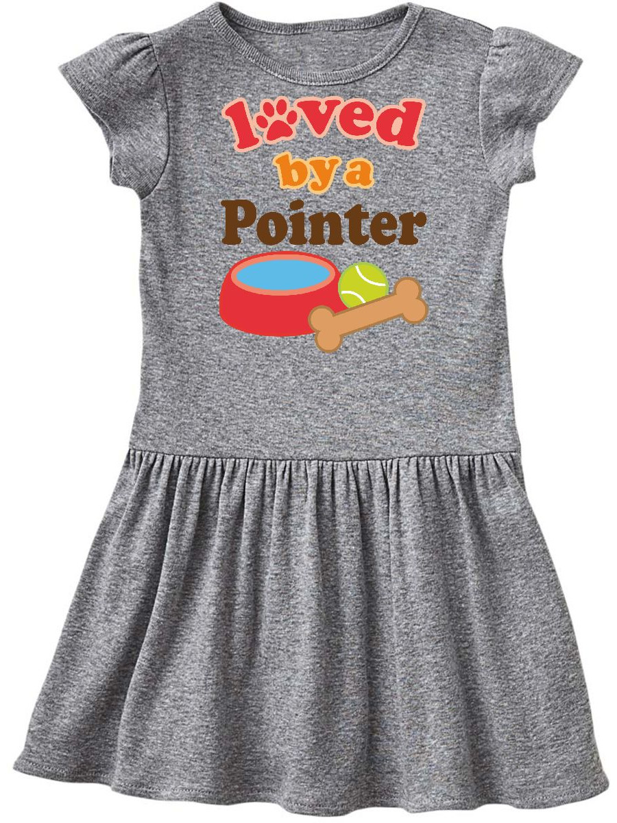 Pointer Dog Lover Infant Dress