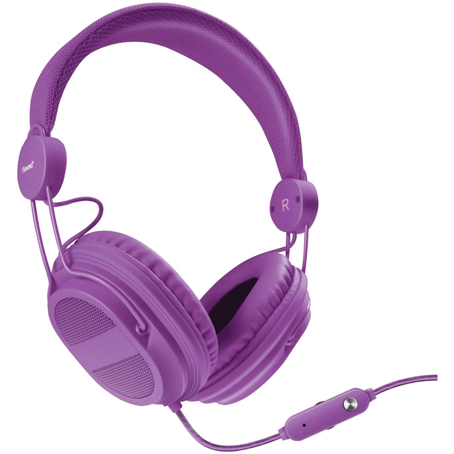 dreamGEAR DGHP-5540 Hm-310 Kid-friendly Headphones with Microphone, Purple
