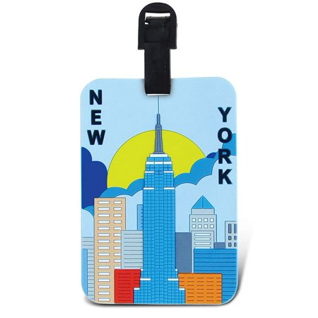 Puzzled, Inc. Luggage Tags New York Luggage Tags New York