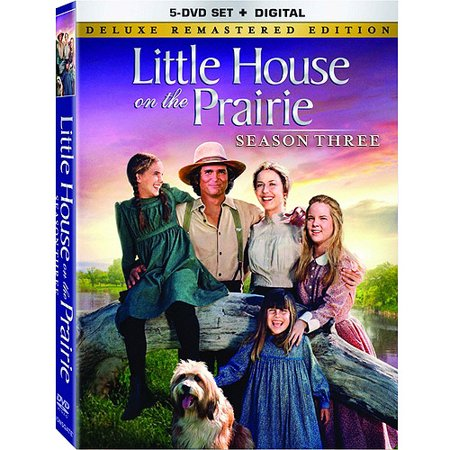 Little House On The Prairie  Season 3 Deluxe Remastered Edition  Dvd   Digital Copy   Full Frame