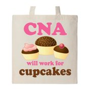 Funny CNA Certified Nurse Assistant Gift Tote Bag Natural One Size