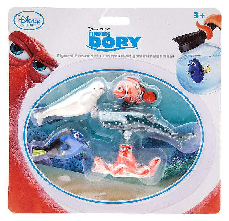 Finding Dory pack of 4 erasers