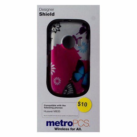 Metropcs Designer Shield Case For Huawei M835   Butterfly
