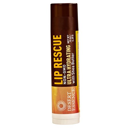 Desert Essence Lip Rescue® Ultra Hydrating with Shea Butter -- 0.15 oz (pack of 4)