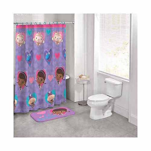 Disney Doc McStuffins 14 Piece Bath Set