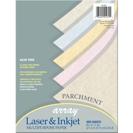 Gold Parchment Paper - Pacon, PAC101079, Parchment Bond Paper, 500 / Ream, Natural,Gold,Tan,Blue,Pink