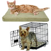 Brinkmann Cozy Pet Bed For Crate Small 18 Pad Dog Cat Pillow Washable Mat Couch