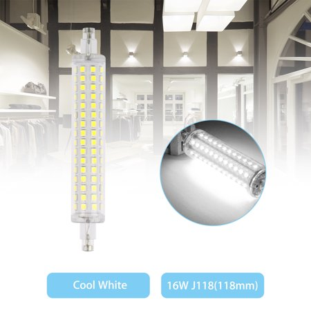 LED Flood Light R7S 118mm Bulb 16W 2835 SMD Replacement Halogen Lamps Warm White/White Light ()