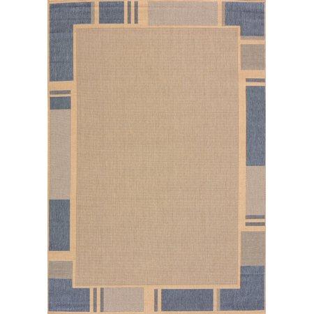 United Weavers Solarium Terrace Blue Accent Rug 2'7'' x 4'2'' ()