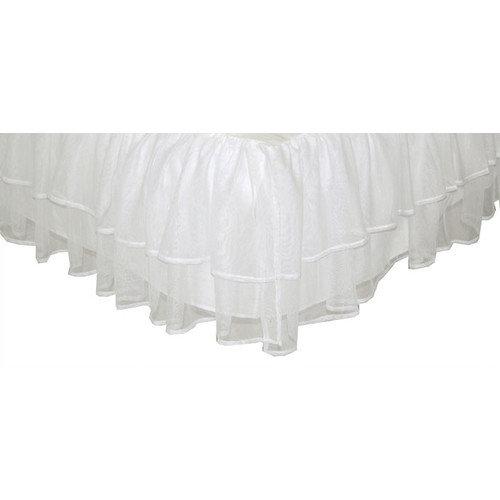 Tadpoles Triple Layer Tulle Bed Skirt