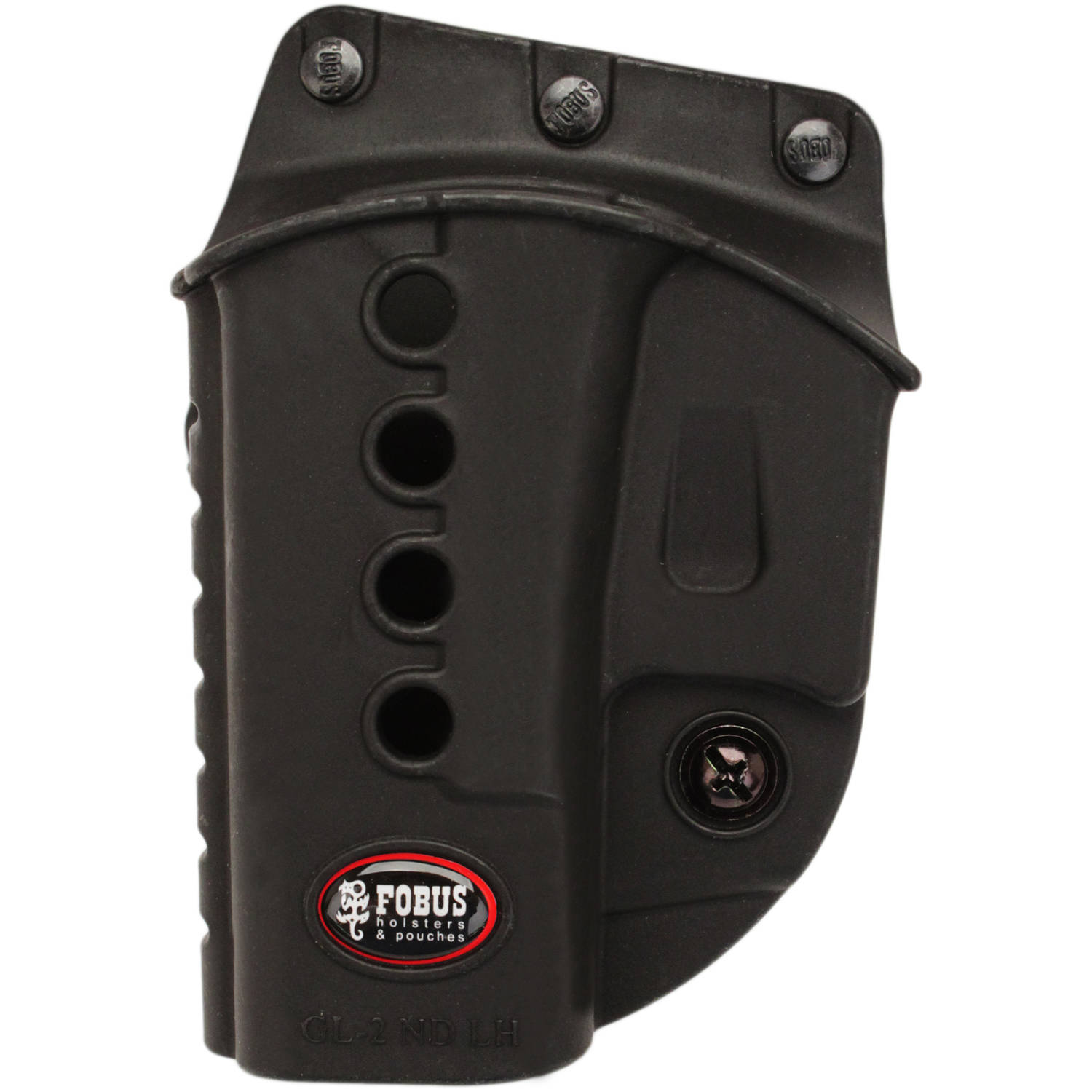 Fobus E2 Evolution Roto Belt Holster Glock 17, 19, 22, 23, 26, 27, 33, 34, 35, Walther PK380 Left Hand by Fobus