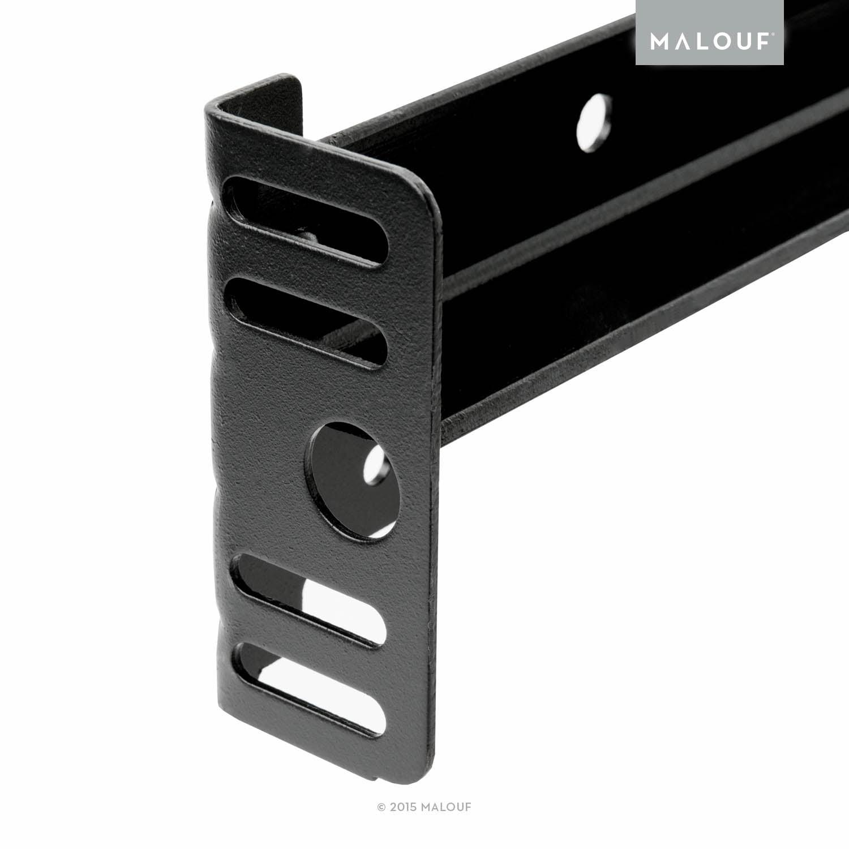 Structures Low-Profile Universal Adjustable Metal Bed Frame ...