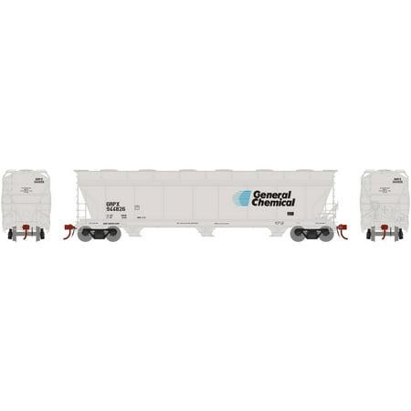 3 Bay Acf Hopper - Athearn HO ACF 4600 3-Bay Centerflow Hopper GRPX #944826, ATHG15460