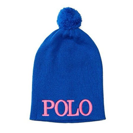 Polo Ralph Lauren Girl's Embroidered Knit Hat 4-6X ()