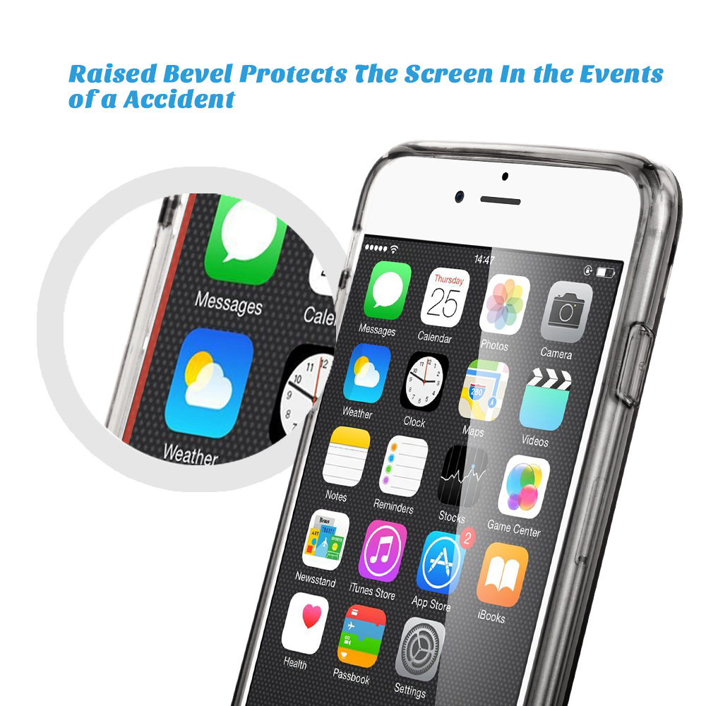 iPhone 6s Case, iPhone 6 Case, ULAK [CLEAR SLIM] Transparent Case with Hard Clear Back Panel for Apple iPhone 6 (4.7 Inch),iPhone 6s (4.7 Inch) - Walmart. ...