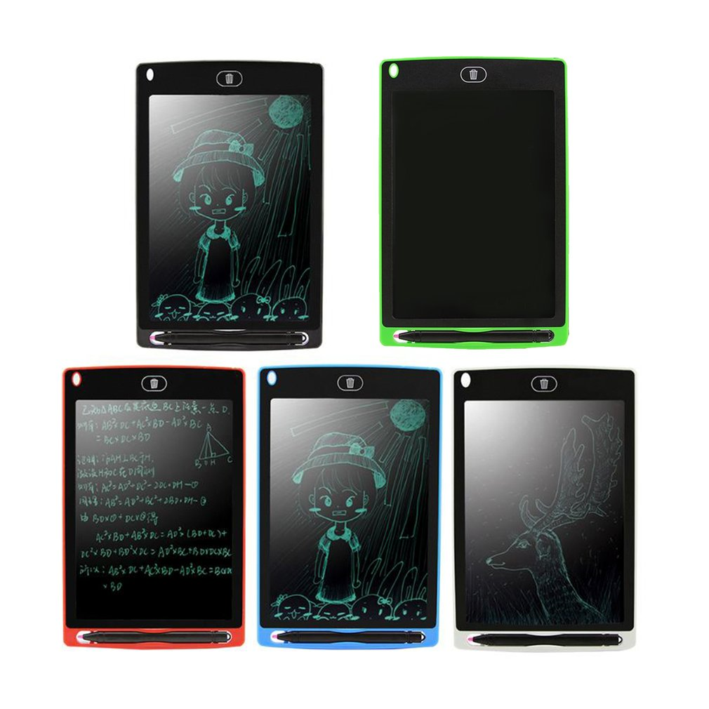 8.5/'/' Creative LCD Writing Pad Notepad Electronic Drawing Graphics Board W// Pen