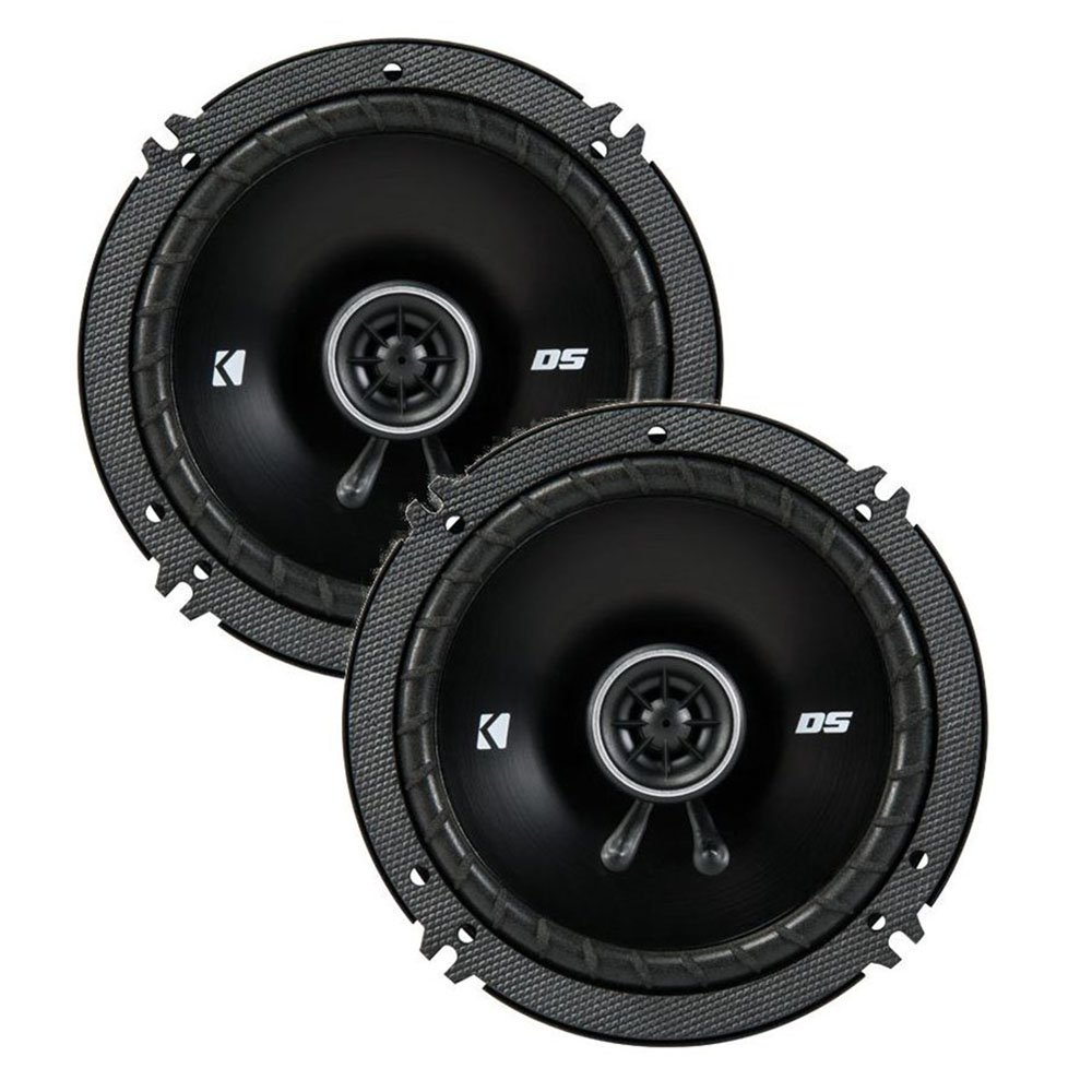 43DSC6504 KICKER 6.5-Inch (160-165mm) Coaxial Speakers, 4-Ohm