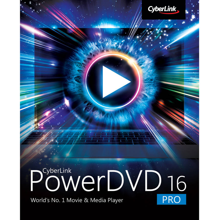 CyberLink DVD-GG00-RPR0-00 PowerDVD 16 Pro (Email Delivery)