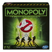 Monopoly Game: Ghostbusters Edition; Board Game for Ages 8+