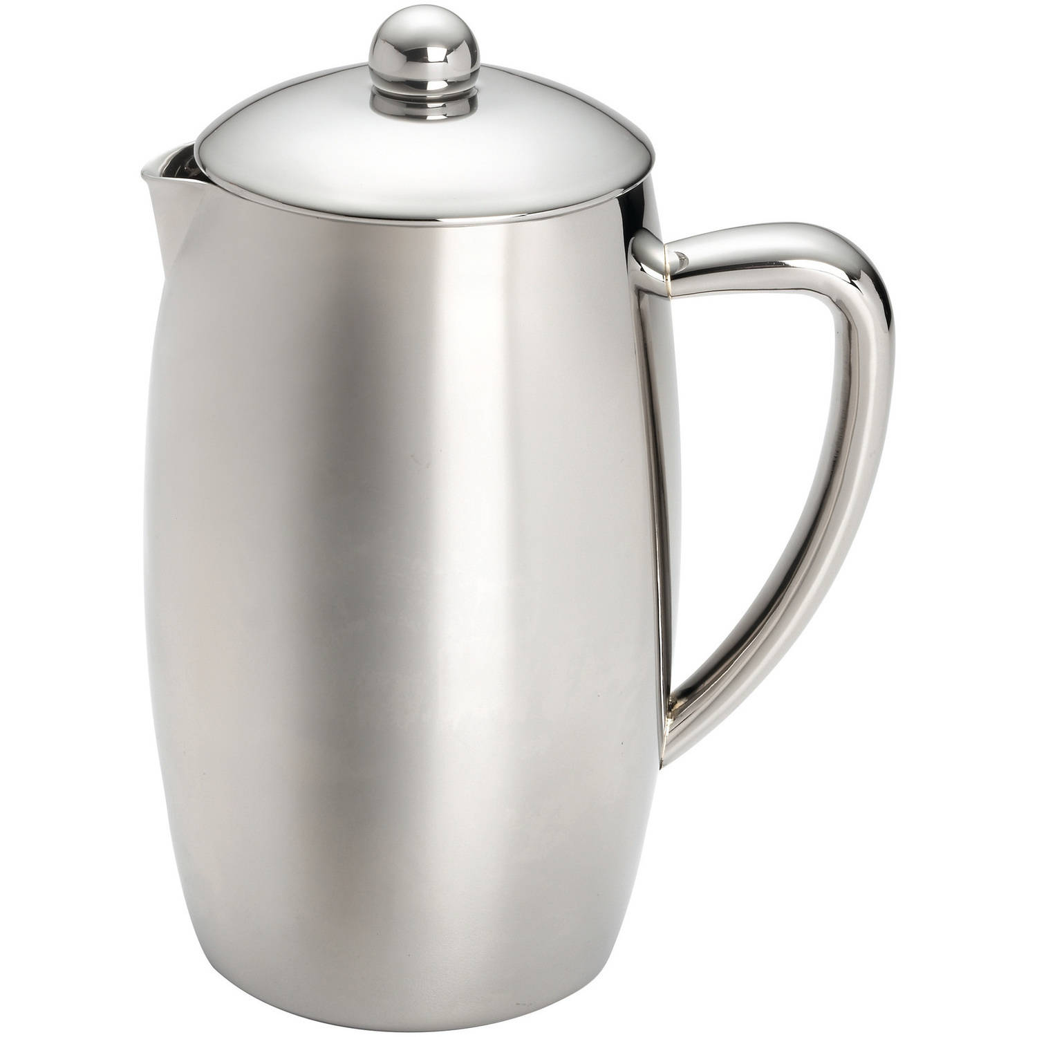 BonJour® 8-Cup Triomphe Double Wall Stainless Steel French Press