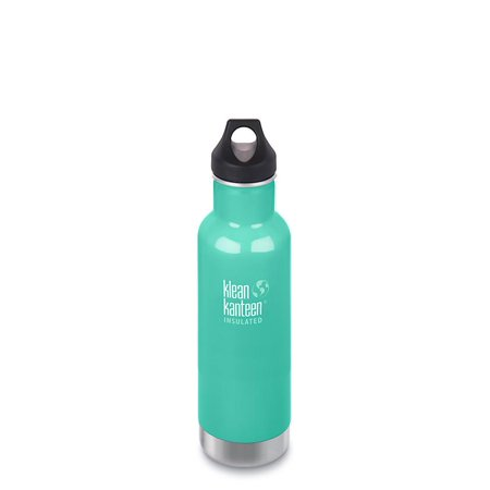Klean Kanteen 20oz Classic Insulated Stainless Steel Water Bottle - Teal