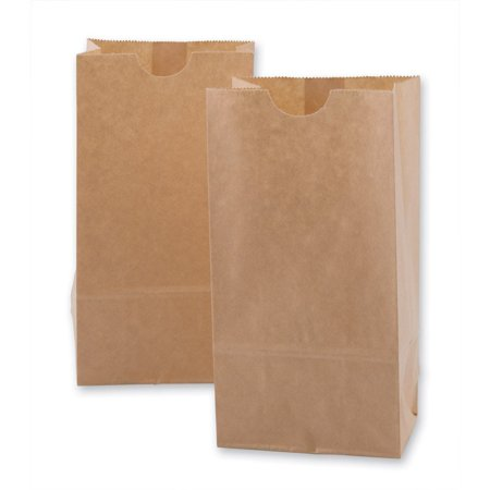 Extra Small Brown Paper Bags 3 X 2 X 6 Party Favors Paper Lunch