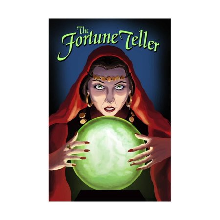 The Fortune Teller Print Wall Art By Lantern