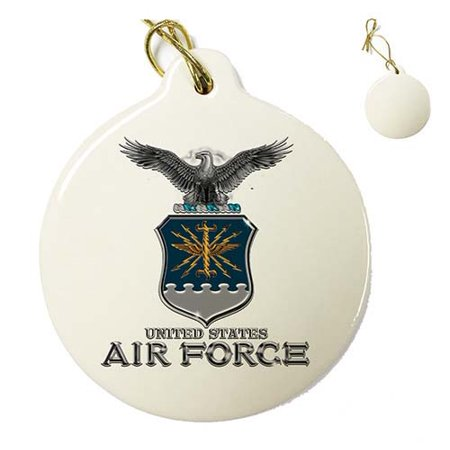 Us air force air force usaf missile porcelain ornament in for Air force decoration writing