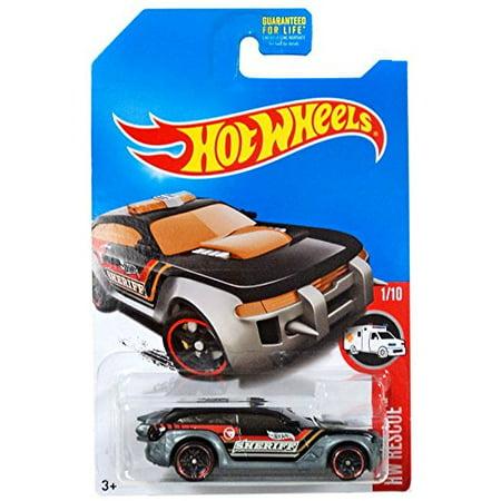 Hot Wheels 2017 HW Rescue HW Pursuit Police Car Treasure Hunt, (Value Of Hot Wheels Treasure Hunt Cars)
