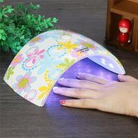Auto Sensor Nail Dryer,36W UV Led Light Nail Dryer Gel Polish Curing Lamp for Fingernail & Toenail UV Led Light Nail Dryer
