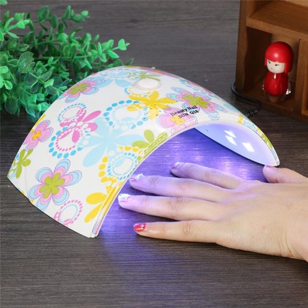 Auto Sensor Nail Dryer,36W UV Led Light Nail Dryer Gel Polish Curing Lamp for Fingernail & Toenail UV Led Light Nail