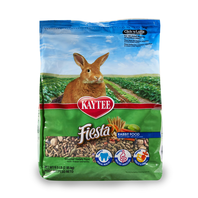Kaytee Fiesta Rabbit Food, 6.5 Lb by Kaytee