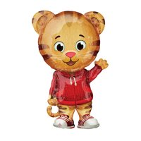 "XL 31"" Daniel Tiger's Neighborhood Mylar Foil Balloon Super Shape Mr. Rodgers"