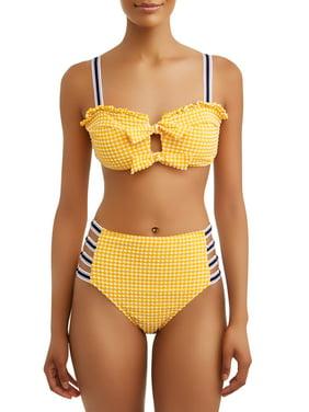 2092de9f2011b Product Image Women's Elevated Tie Bralette Swimsuit Top