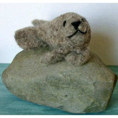 Lorna's Wool Needle Felting Kit-Seal