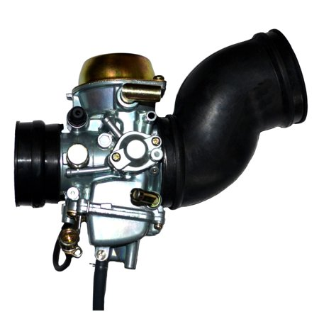 2000 2001 Yamaha Grizzly YFM 600 Carburetor + 2 FREE Intake Manifold Boot (Qest Manifold)