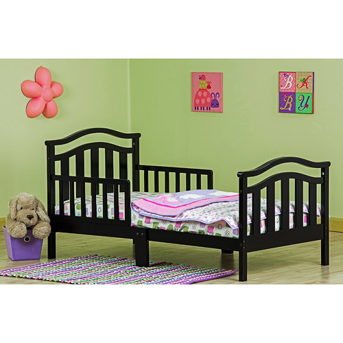 Dream on Me Elora Collection Toddler Bed with Storage Drawer, Choose Your Finish