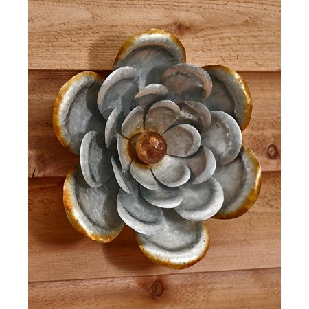 Galvanized Flower - The Lakeside Collection Galvanized Metal AnemoneWall Flower - Anemone
