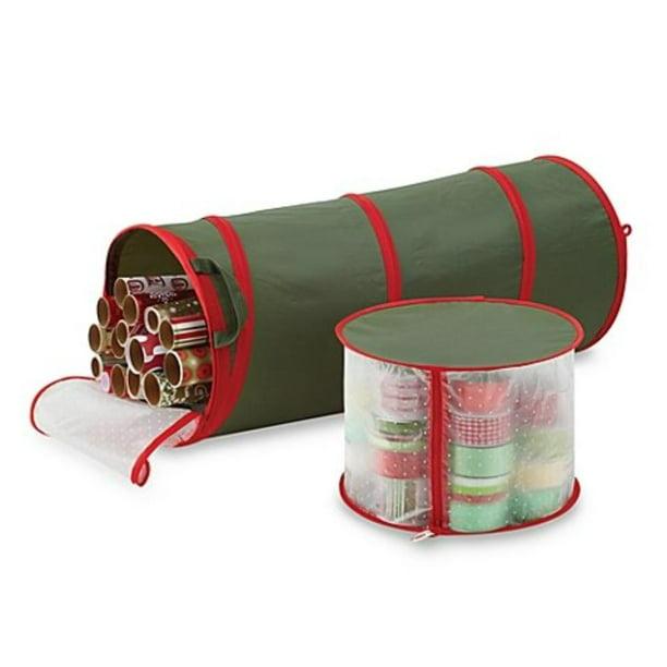 Pop Up Gift Wrap Ribbon Organizer By Real Simple Walmart Com Walmart Com