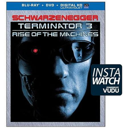terminator 3: rise of the machines (blu-ray + dvd + digital (Best Dental X Ray Machine In India)