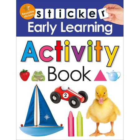 Sticker Early Learning: Activity Book - Halloween Early Years Activities
